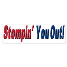 NY GIANTS Stompin you out Bumper Bumper Sticker