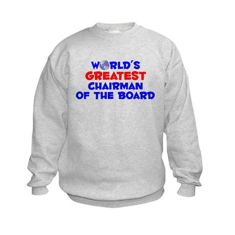 World's Greatest Chair.. (A) Kids Sweatshirt