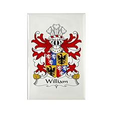 William (Sir, AP THOMAS) Rectangle Magnet (10 pack