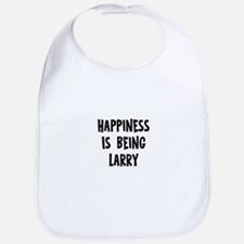 Happiness is being Larry Bib