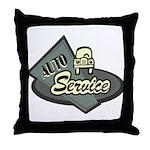 Auto Service Throw Pillow