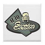 Auto Service Tile Coaster