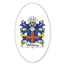Whitney (of Herefordshire) Oval Decal