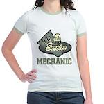 Mechanic Auto Service Jr. Ringer T-Shirt