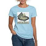 Mechanic Auto Service Women's Pink T-Shirt