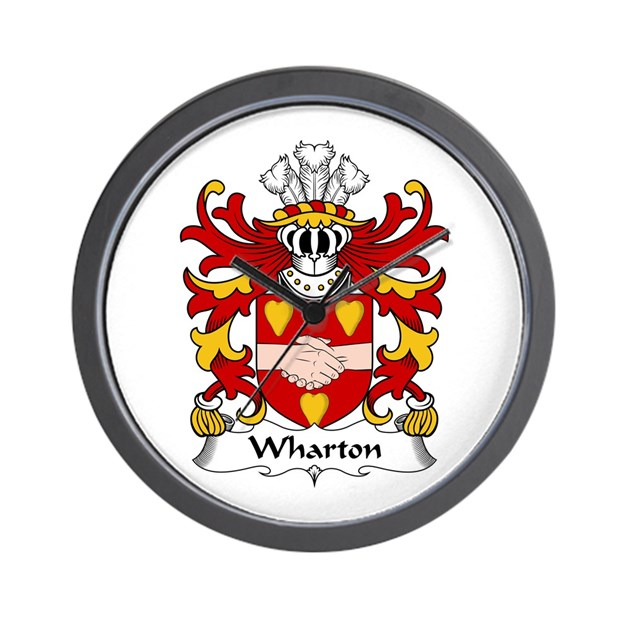 Wharton bishop of st asaph wall clock by ultraheraldry for Wharton cad