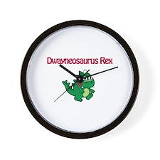 Dwayneosaurus Rex Wall Clock