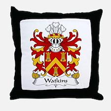 Watkins (of Pembrokeshire) Throw Pillow