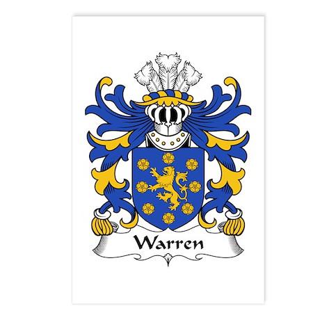 Warren (of Tre-wern, Nevern, Pembrokeshire) Postca