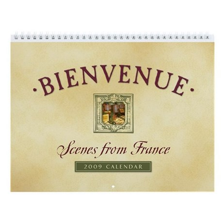 Scenes from France Wall Calendar