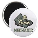 Mechanic Auto Service Magnet