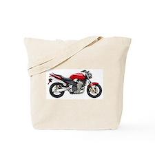 Honda 919 Motorbike Red 2007 Tote Bag
