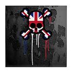 British Punk Skull Tile Coaster