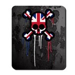 British Punk Skull Mousepad