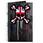 British Punk Skull Journal