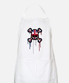 British Punk Skull Apron