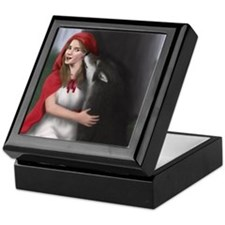 "Moonlight Werewolves ""The Kiss"" Keepsake Box"