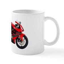Honda CBR600 Motorbike Red 2006 Mug