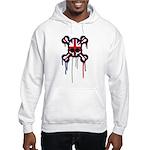 British Punk Skull Hooded Sweatshirt