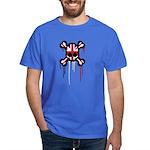 British Punk Skull Dark T-Shirt