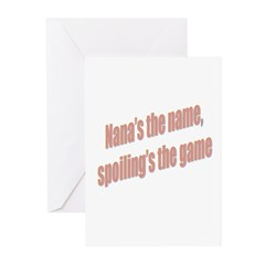 Nana's the name Greeting Cards (Pk of 20)