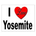 I Love Yosemite Small Poster