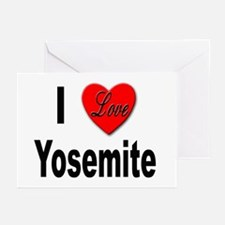 I Love Yosemite Greeting Cards (Pk of 10)