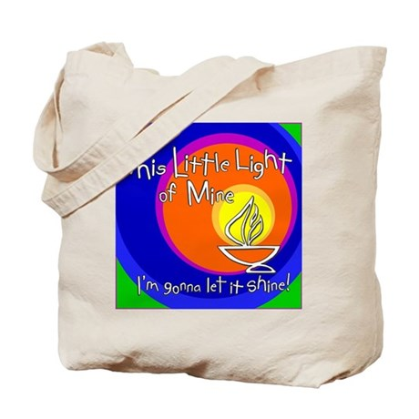 """""""This Little Light of Mine"""" Tote Bag"""