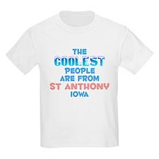 Coolest: St Anthony, IA T-Shirt