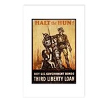 Halt the Hun! Postcards (Package of 8)