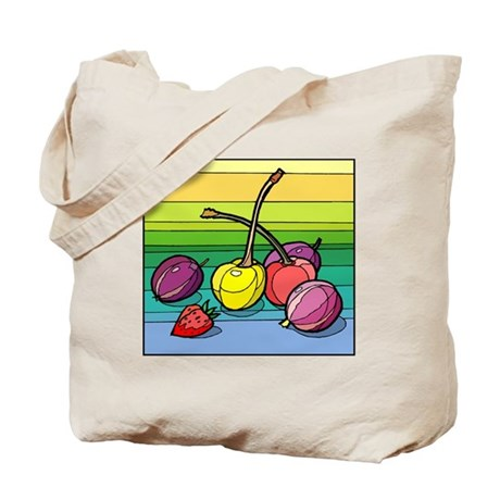 colorful Cherries Tote Bag
