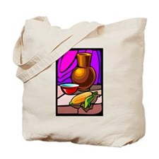 colorful Corn Tote Bag
