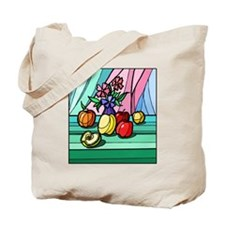 colorful Fruit Tote Bag