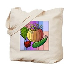colorful Squash Tote Bag