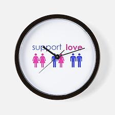 Cute Same sex Wall Clock