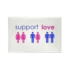 Cute Equality Rectangle Magnet (10 pack)