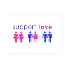 Cute Support gay marriage Postcards (Package of 8)