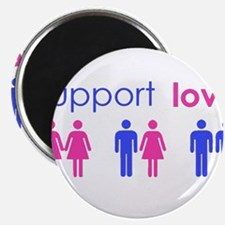 """Unique Marriage equality 2.25"""" Magnet (100 pack)"""
