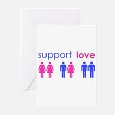 Unique Gay rights Greeting Cards (Pk of 10)