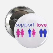 "Unique Gay rights 2.25"" Button"