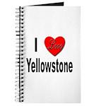 I Love Yellowstone Journal