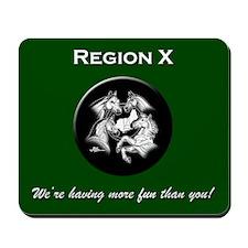 Region X Mousepad