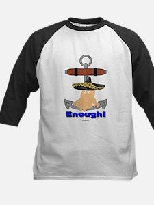 Enough! No More Anchor Babies Kids Baseball Jersey