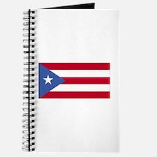 Puerto Rico Flag Journal