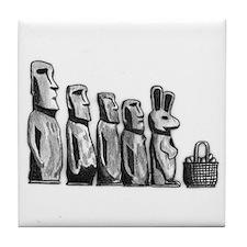 Easter Island Tile Coaster