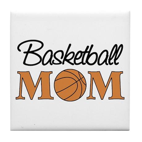 Basketball Mom Tile Coaster