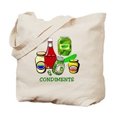 Condiments Tote Bag