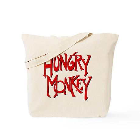 Hungry Monkey Tote Bag