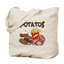 Potatos Tote Bag