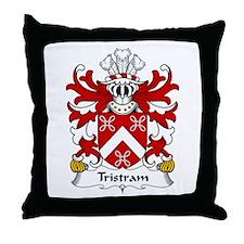 Tristram (OR TRYSTAN) Throw Pillow
